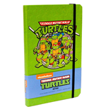 Teenage Mutant Ninja Turtles Notizbuch Retro