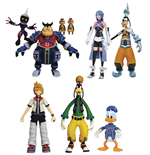Kingdom Hearts Select Actionfiguren 18 cm Packs Serie 2 Sortiment (6)