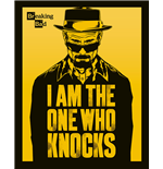 Poster Breaking Bad - I Am The One Who Knocks - 40X50 Cm