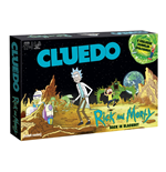 Rick and Morty Brettspiel Cluedo Back in Blackout *Deutsche Version*