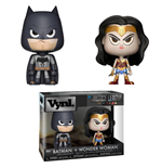DC Comics VYNL Vinyl Figuren Doppelpack Wonder Woman & Batman 10 cm