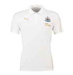 Polohemd Newcastle United 2018-2019 (Weiss)