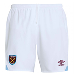 Shorts West Ham United 2018-2019 Home (Weiss)