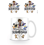 Kingdom Hearts Tasse Logo