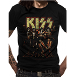 Kiss T-Shirt - Design: Skull Line Up