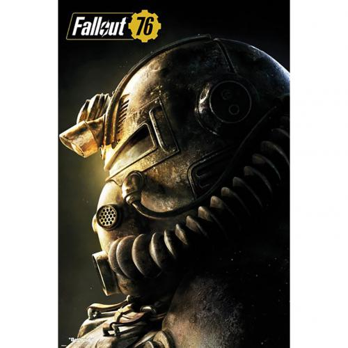 Poster Fallout T51b 155