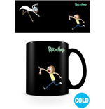 Rick and Morty Tasse mit Thermoeffekt Portals