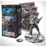 AvP Tabletop-Spiel The Hunt Begins Expansion Pack USCM Officer *Deutsche Version*