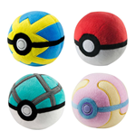 Pokemon Pokeball Plüsch 7 cm Display D7 (6)