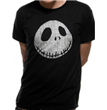 Nightmare Before Christmas T-Shirt - Design: Jack Cracked Face