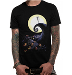 Nightmare Before Christmas T-Shirt - Design: Cemetery