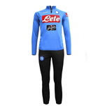 Trainingsanzug 2018-2019 Napoli Half Zip (Sky blue) - Kids