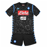 Fußballtrikot-Set Napoli Kappa 2018-2019 Away Kinder