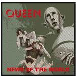 Queen Aufnäher - Design: News of the World