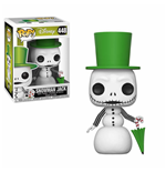 Nightmare before Christmas POP! Movies Vinyl Figur Snowman Jack 9 cm