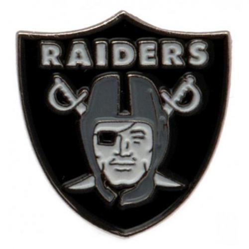 Oakland Raiders Brosche