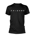 T-Shirt Friends Logo in schwarz