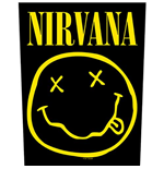 Nirvana Aufnäher - Design: Smiley