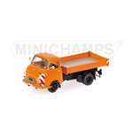 HANOMAG KURIER KIPPER 1958 ORANGE
