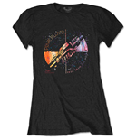 Pink Floyd T-Shirt für Frauen - Design: Machine Greeting Orange