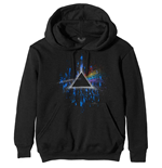 Pink Floyd Pullover unisex - Design: Dark Side of the Moon Blue Splatter