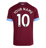 2018/2019 Trikot West Ham United 2018-2019 Home Personalisierbar
