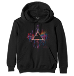 Pink Floyd Pullover unisex - Design: Dark Side of the Moon Pink Splatter