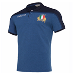 Polohemd Italien Rugby 2018-2019