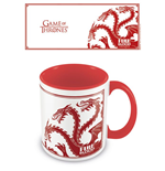 Game of Thrones Coloured Inner Tasse Targaryen