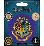 Aufkleber Harry Potter : Hogwarts Stickers Set (12,5X10 Cm)