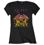 Queen T-Shirt für Frauen - Design: Gradient Crest