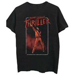 Michael Jackson  T-Shirt für Männer - Design: Thriller White Red Suit