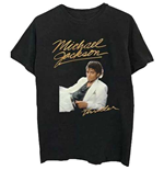 Michael Jackson  T-Shirt für Männer - Design: Thriller White Suit