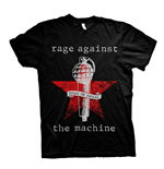 T-Shirt Rage Against The Machine  BULLS ON PARADE MIC