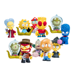 Simpsons Vinyl Minifiguren 8 cm Treehouse of Horror Display (20)