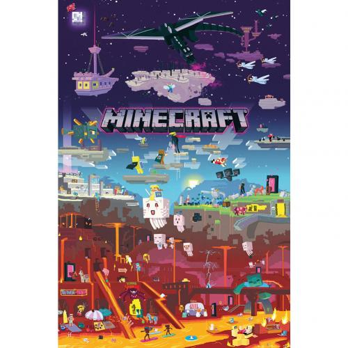Minecraft Poster World Beyond 179