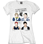 T-Shirt 5 seconds of summer 324801