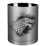 Game of Thrones Kerze im Glas House Stark 8 x 9 cm