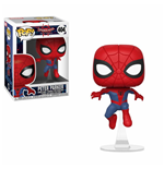 Spider-Man Animated POP! Marvel Vinyl Wackelkopf-Figur Peter Parker 9 cm