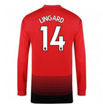 Manchester United FC langärmeliges T-Shirt 2018-2019 Home