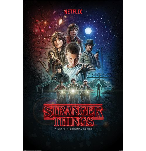 Poster Stranger Things - One Sheet Maxi Poster