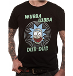 Rick And Morty T-Shirt - Design: Wubba Lubba