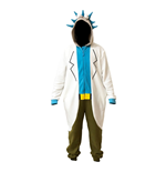 Rick And Morty Kostüm RICK ONESIE