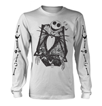 The Nightmare Before Christmas T-Shirt JACK CROSSED ARMS SLEEVE