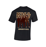 Kiss T-Shirt DRESSED TO KILL