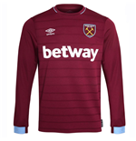 West Ham United Fusskball Trikot 2018-2019 Home