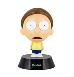 Rick & Morty 3D Icon Lampe Morty 10 cm