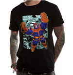 T-Shirt Marvel Comics  - Design: Thanos Comic Strip in schwarz