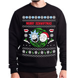 Rick And Morty Sweatshirt - Design: Merry Schwiftmas