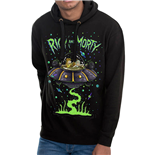 Rick And Morty Sweatshirt - Design: Space